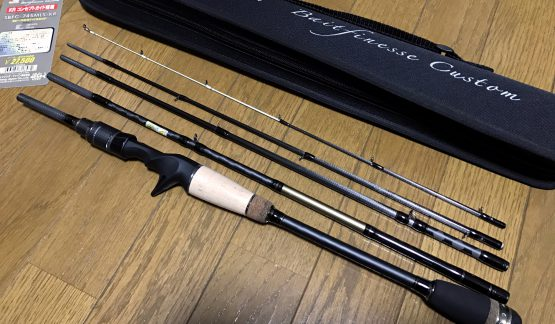 NEWパックロッド購入 (Salty Stage KR-X BaitFinesse Custom)